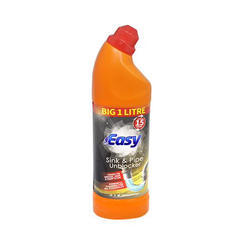Easy Sink & Pipe Unblocker 1L in UK