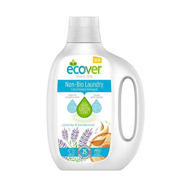 Ecover Non-Bio Lavender & Sandalwood Liquid Detergent 25 Washes 875ml in UK