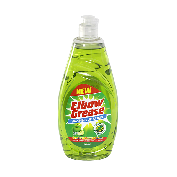 Elbow Grease Washing Up Liquid Apple 740ml in UK