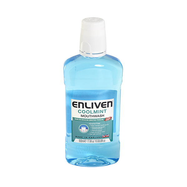 Enliven Coolmint Mouthwash 500ml in UK