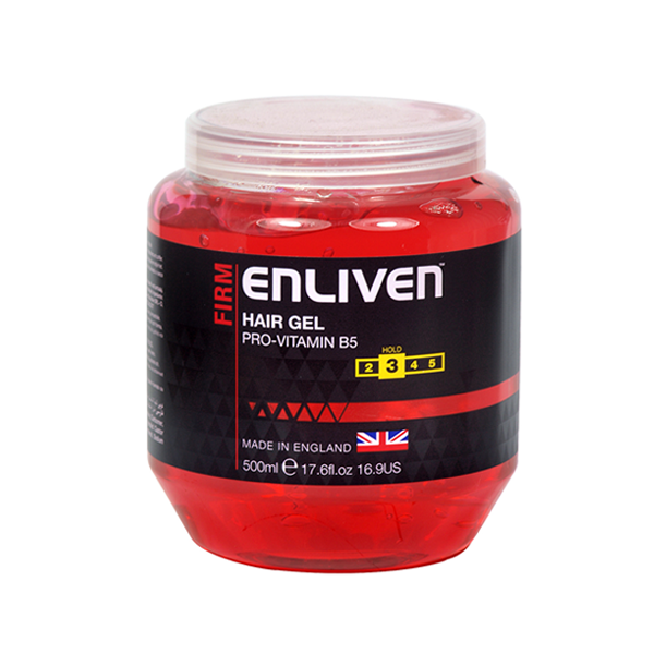 Enliven Firm Red Hair Gel 500ml in UK