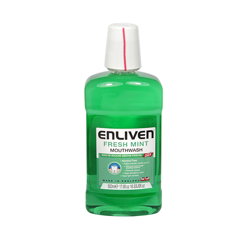 Enliven Fresh Mint Mouthwash 500ml in UK