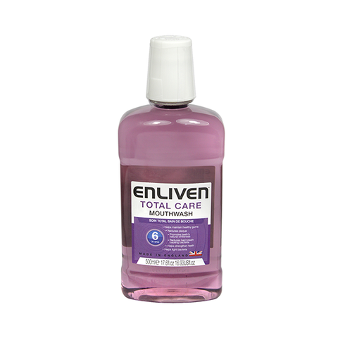 Enliven Total Care Mouthwash 500ml in UK