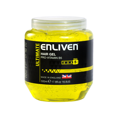 Enliven Ultimate Hold Hair Gel 500ml in UK