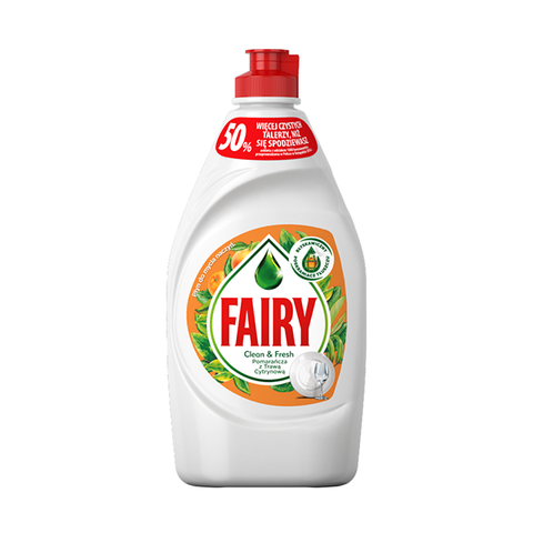 Fairy Washing Up Liquid Orange & Lemon Grass 450ml in UK
