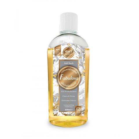 Fabulosa Gold Touch Disinfectant 220ml in UK
