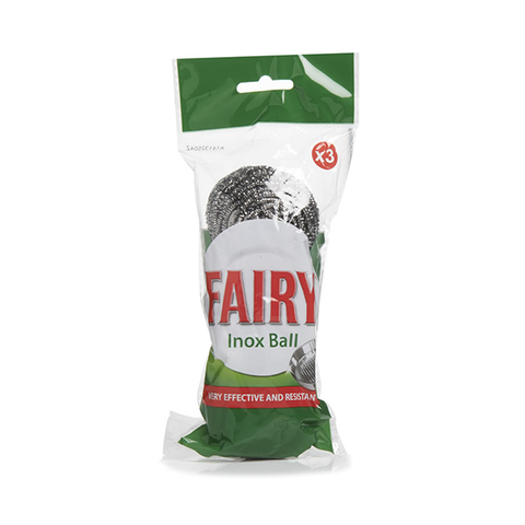 Fairy Inox Scourer Ball 3PK in UK
