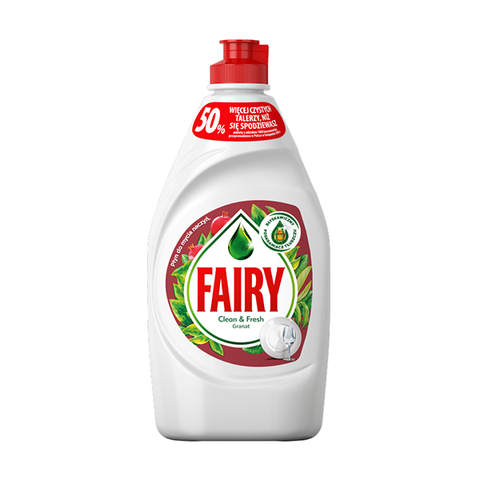 Fairy Washing Up Liquid Pomegranate & Red Orange 450ml in UK