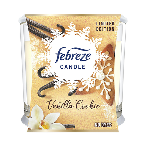 Febreze Vanilla Cookie Candle 100g in UK