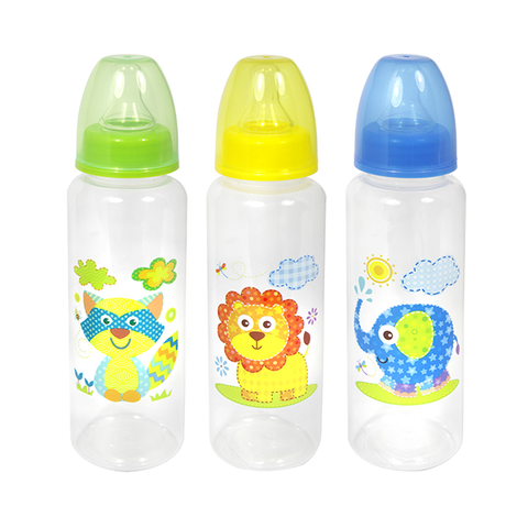 First Steps Jungle Baby Bottle 250ml 3ASS in UK