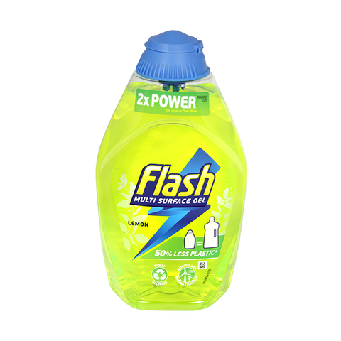 Flash Multi Surface Gel Lemon 600ml in UK