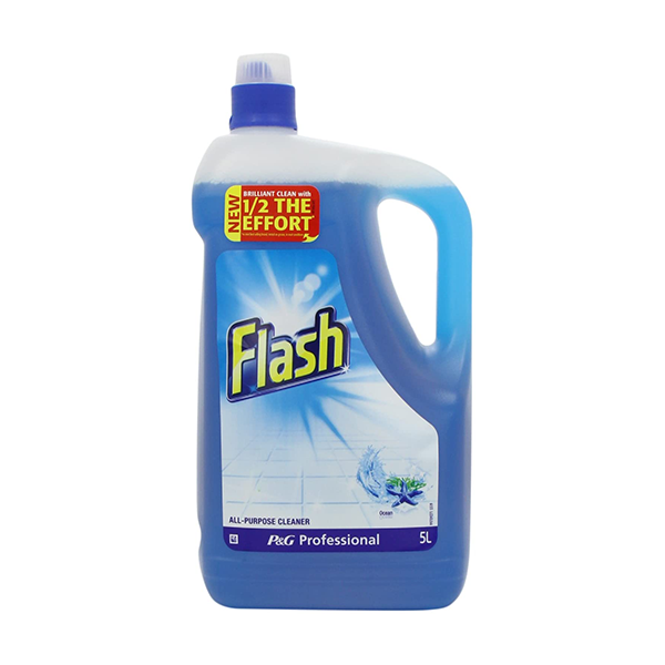 Flash Professional All Purpose Liquid Cleaner Ocean 5L in UK
