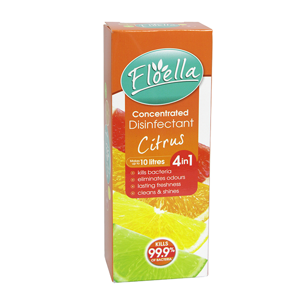 Floella Concentrate Disinfectant 4In1 Citrus 150ml