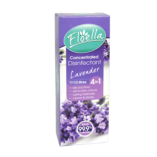 Floella Concentrate Disinfectant 4In1 Lavender 150ml in UK
