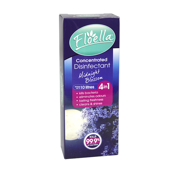 Floella Concentrate Disinfectant 4In1 Midnight Blossom 150ml in UK