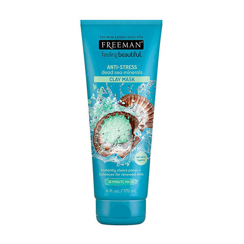 Freeman Feeling Beautiful Anti-Stress Dead Sea Minerals Clay Mask 175ml in UK