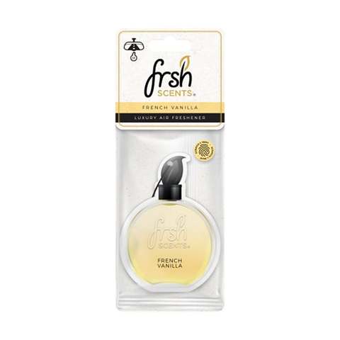 Frsh Scents French Vanilla Luxury Car Air Freshener in UK