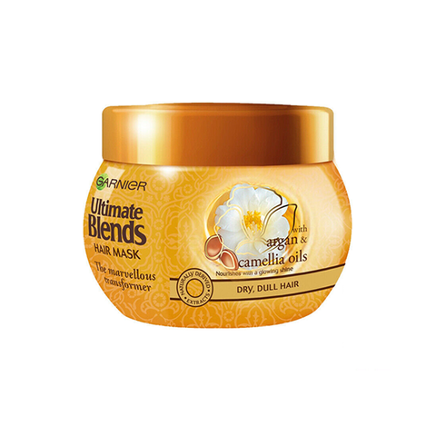 Garnier Ultimate Blends Argan Oil & Camellia Oils Hair Mask 300ml in UK