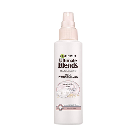 Garnier Ultimate Blends Oat Milk Heat Protection Spray 150m in UK
