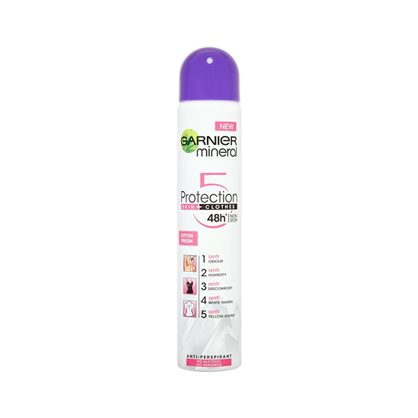 Garnier Mineral Protection 5 Fresh Anti-Perspirant Deodorant Spray 250ml in UK