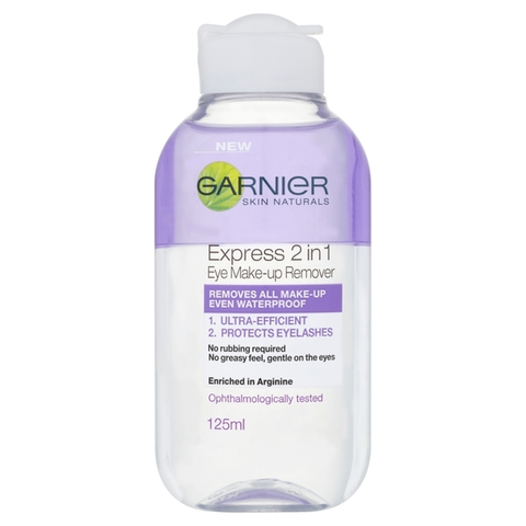 Garnier Skin Naturals 2in1 Eye Make-up Remover 125ml in UK