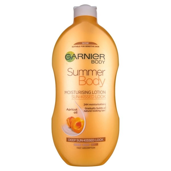 Garnier Summer Body Gradual Self-Tan Moisturiser Dark 400ml in UK