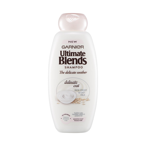 Garnier Ultimate Blends Delicate Soother Shampoo 400ml in UK