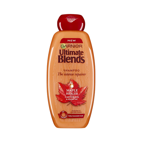 Garnier Ultimate Blends Maple & Castor Oil Shampoo 400ml in UK