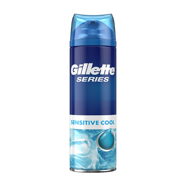 Gillette Series Sensitive Cool Shaving Gel 200ml in UK