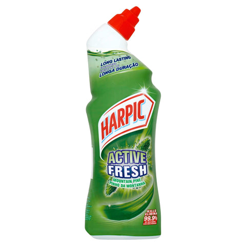 Harpic Active Fresh Mountain Pine Toilet Cleaning Gel 750ml