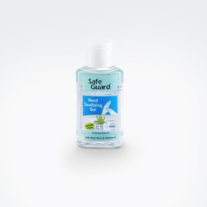 SG Hand Sanitizing Gel 50ml - With Aloe Vera & Vitamin E