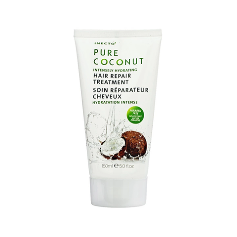 Inecto Pure Coconut Hair Repair Treatment Intense Hydrating 150ml in UK