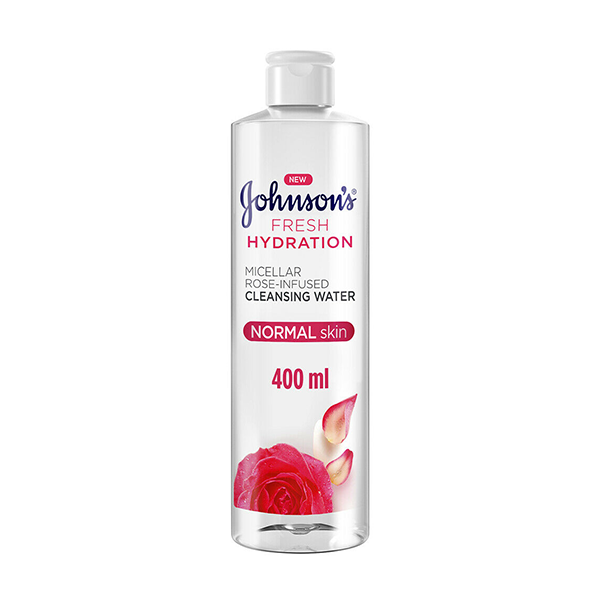 Johnson's Micellar Water Rose Infused 400ml in UK