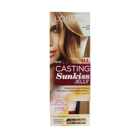 L'Oreal Casting Sunkiss Jelly Natural Hair - 01 Light Brown To Dark Blonde in UK
