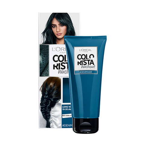 L'Oreal Colorista Washout Denim Blue Semi-Permanent Hair Dye in UK
