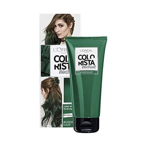 L'Oreal Colorista Washout Green Semi-Permanent Hair Dye in UK