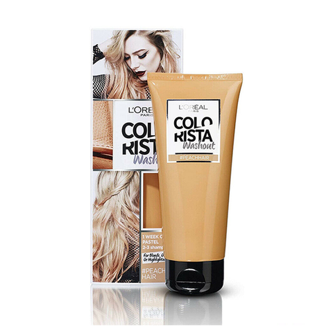 L'Oreal Colorista Washout Peach Semi-Permanent Hair Dye in UK