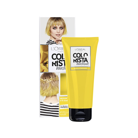 L'Oreal Colorista Washout Yellow Semi-Permanent Hair Dye in UK