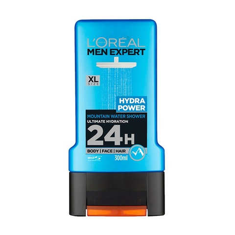 L'Oreal Men Expert Hydra Power 3In1 Shower Gel 300ml