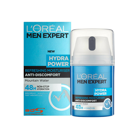 L'Oreal Men Expert Hydra Power Refreshing Moisturiser 50ml in UK