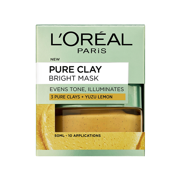 L'Oreal Paris Pure Clay Bright Face Mask 50ml in UK