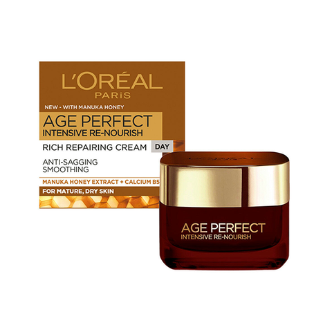 L'Oreal Age Perfect Intensive Renourish Manuka Honey Day Cream 50ml in UK