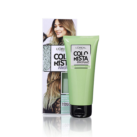 L'Oreal Colorista Washout Mint Green Semi-Permanent Hair Dye in UK