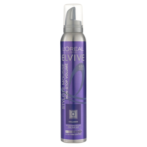 L'Oréal Elvive Styliste Mousse Non-Stop Volume 200ml in UK