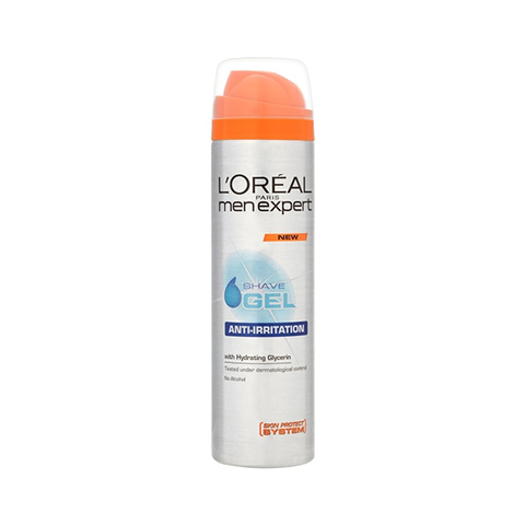 L'Oreal Men Expert Anti-Irritation Shave Gel 200ml in UK