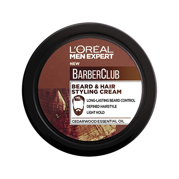 L'Oreal Men Expert Barber Club Beard & Hair Styling Cream 75ml in UK