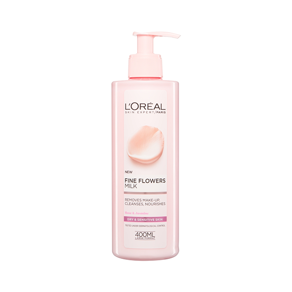 L'Oreal Paris Fine Flowers Cleansing Milk 400ml in UK