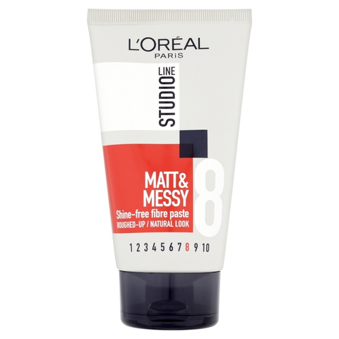 L'Oréal Studio Line Matt & Messy Paste 150ml in UK
