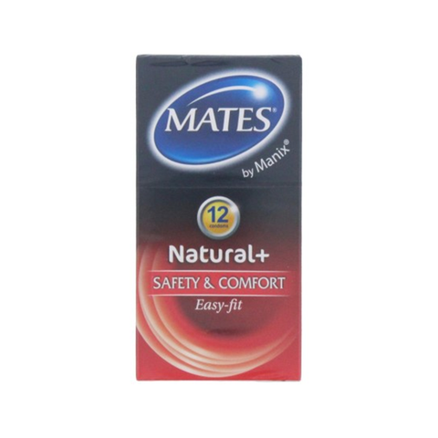 Mates 12's Condoms Natural in UK