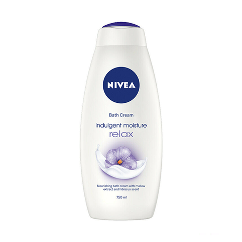 Nivea Bath Cream Indulgent Moisture Relax 750ml in UK